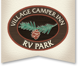 Village Camper Inn RV park Logo